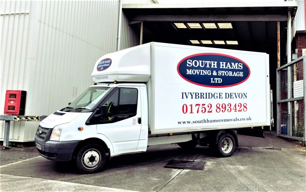 South Hams Removals van-2